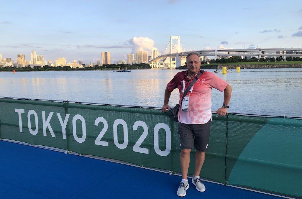 Onze extra man op de olympische triatlons: Dirk Bogaert voor de 3de keer Technical Official