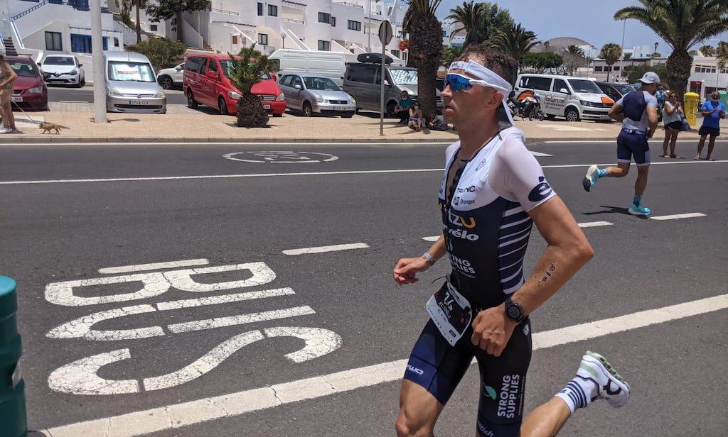 Kenneth Vandendriessche achtste en eerste Belg in sterkbezette Ironman Lanzarote