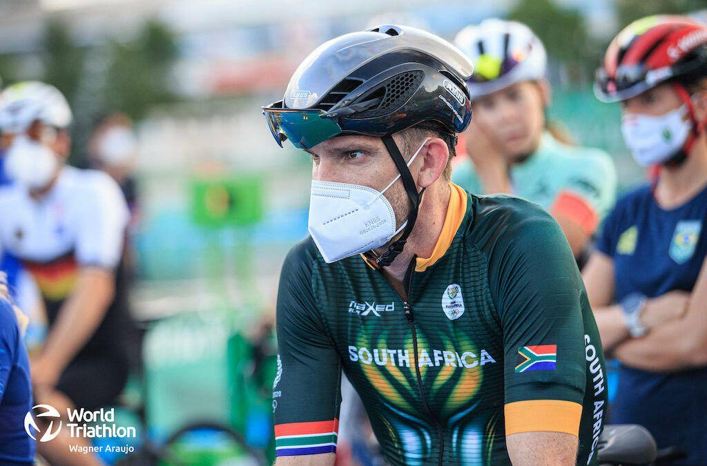 Triatleet Richard Murray zonder races terug naar huis, Zuid-Afrika trekt zich terug uit Mixed Team Relay