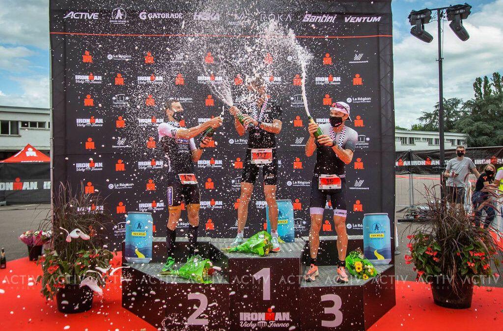 Belgische winst en tweemaal zilver in Ironman Vichy triatlon