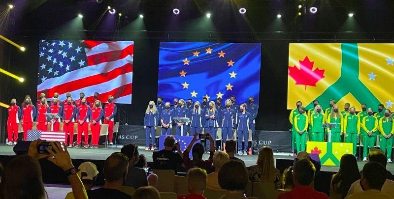 Sanders tegen Starky en Kienle en alle andere duels Collins Cup tussen Team Europe, USA en International
