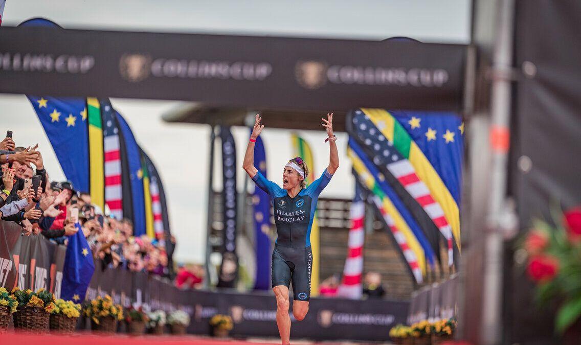 Team Europe wint allereerste Collins Cup triatlon na valpartijen, verrassende zeges en veel spektakel