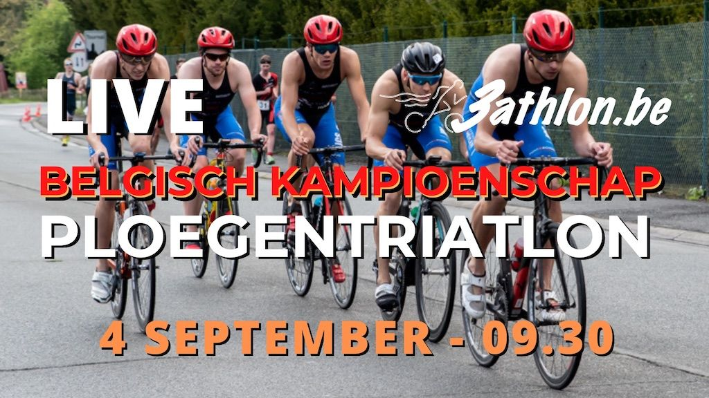 NU LIVE – Belgisch kampioenschap ploegentriatlon in Viersel zaterdag op de livestream van 3athlon.be