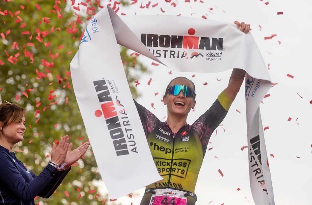 Wouter Monchy 17de in snelle Ironman Klagenfurt: 3 pro's onder 8 uur, Laura Philipp in 8u35