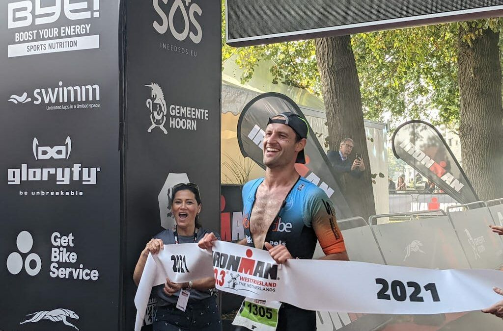 Alweer Belgische Ironman-zege: Ruben Geys wint 70.3 Ironman Westfriesland