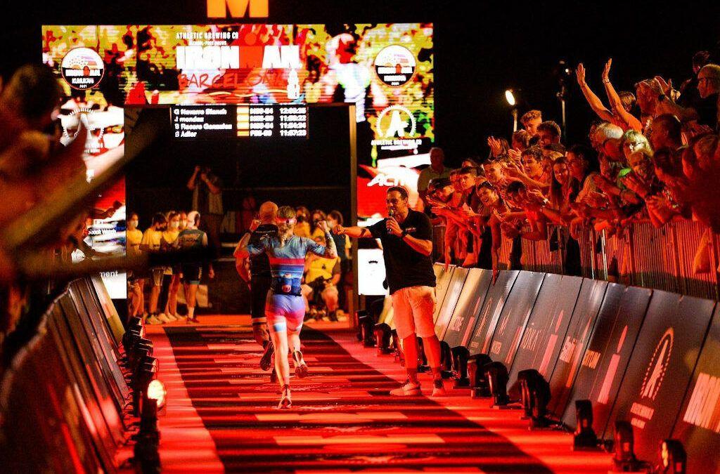 Opnieuw Belgisch eremetaal: Alexis Krug en Barry Schrooyen op podium van Ironman Barcelona