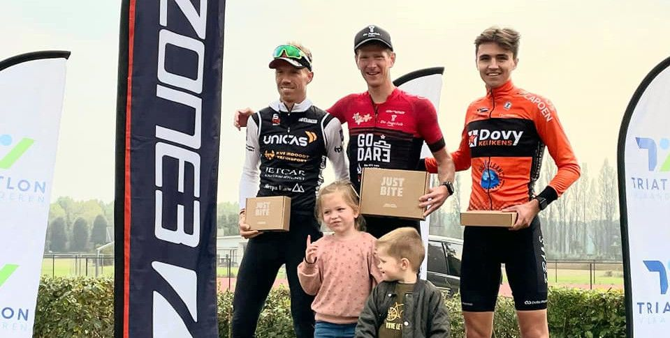 Wereldkampioen duatlon wint in Hofstade na snelle tweede run