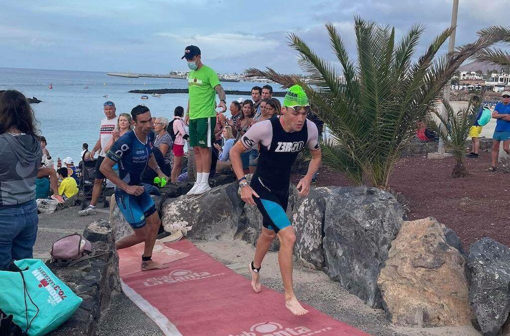 Sybren Baelde 9de in 70.3 Ironman Lanzarote, 4 Belgische age group zeges