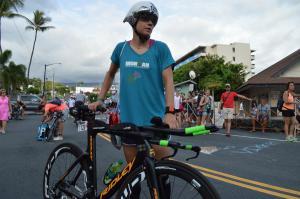 IM Hawaii bike checkDSC 2413