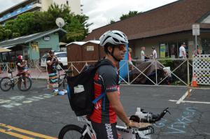 IM Hawaii bike checkDSC 2433